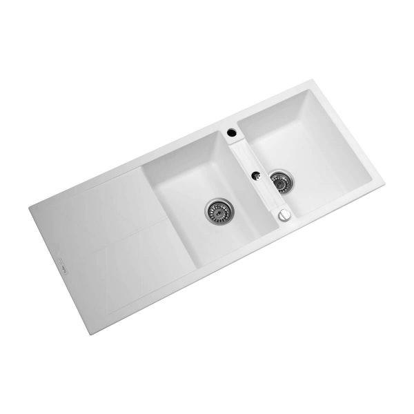 سینک ظرفشویی گرانیتی گوفر مدل راین RHINE-W